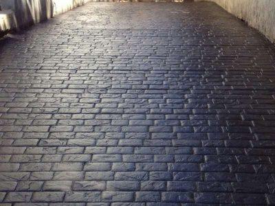 beton decorativ caramida neagra