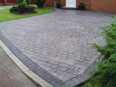 loc parcare beton amprentat