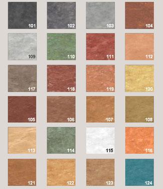paletar culori beton amprentat