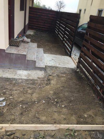pregatire teren pentru turnarea de beton amprentat2
